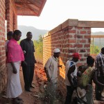 Village Leaders tour the school